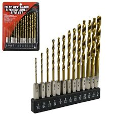 Quick Change Hex Shank HSS Drill Bits For Stainless Steel 1mm-13mm Size