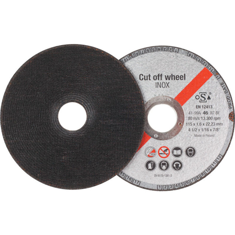 """25 Pc 4-1//2/"""" x 1//16/"""" x 7//8/"""" Cut off Wheels Stainless Steel Metal Cutting Discs"""
