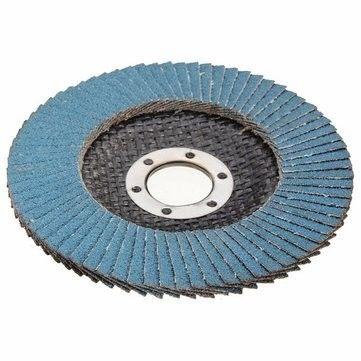 """10 x Flap Grinding Sanding Discs 115mm 4.5/"""" 80 Grit Angle Wheel Zircon"""